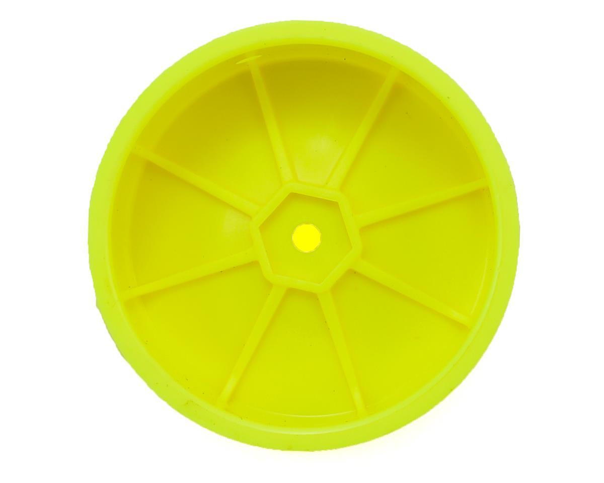 Schumacher 12mm Hex 1/10 2WD Front Buggy Wheel (Yellow) (2) (Medium)