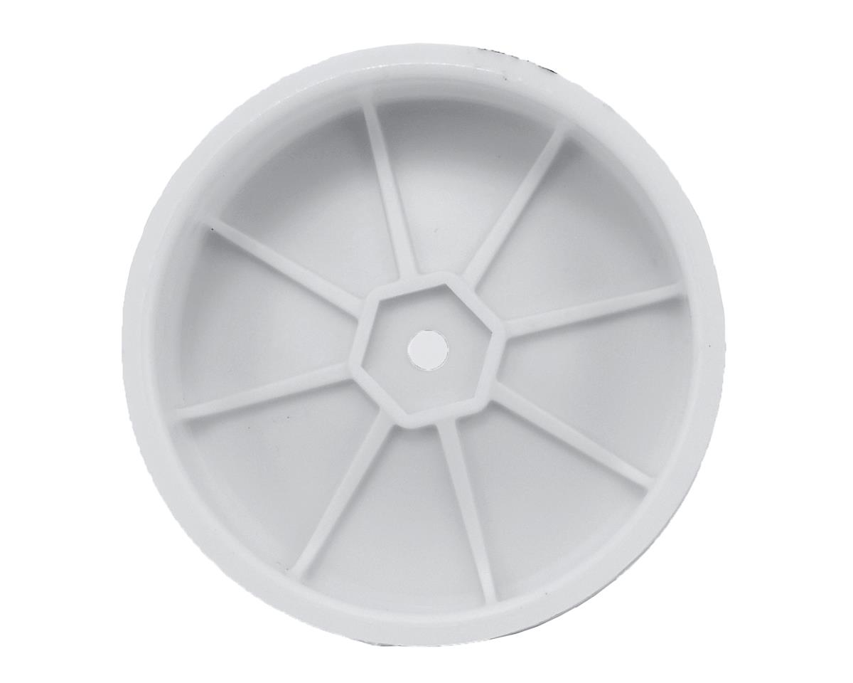 Schumacher 12mm 1/10 2WD Buggy Front Hex Wheels (White) (10) (Slim)