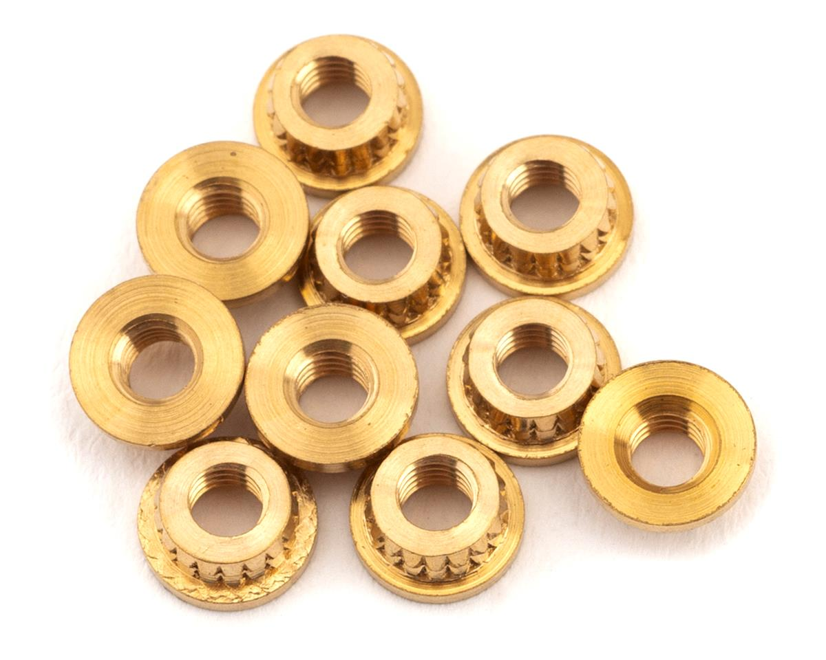 Schumacher M3 Brass Threaded Inserts (10)