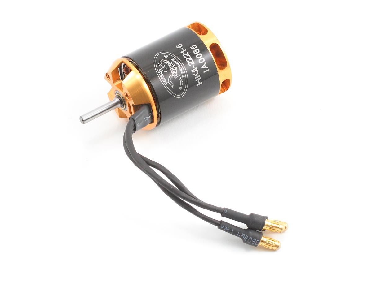 Scorpion hk 2221 6 v2 brushless motor 525w 4400kv scp for Are brushless motors better