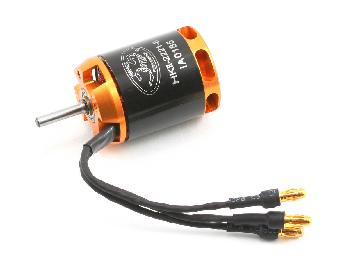 HKII-2221-8 V2 Brushless Motor (475W, 3595Kv) by Scorpion
