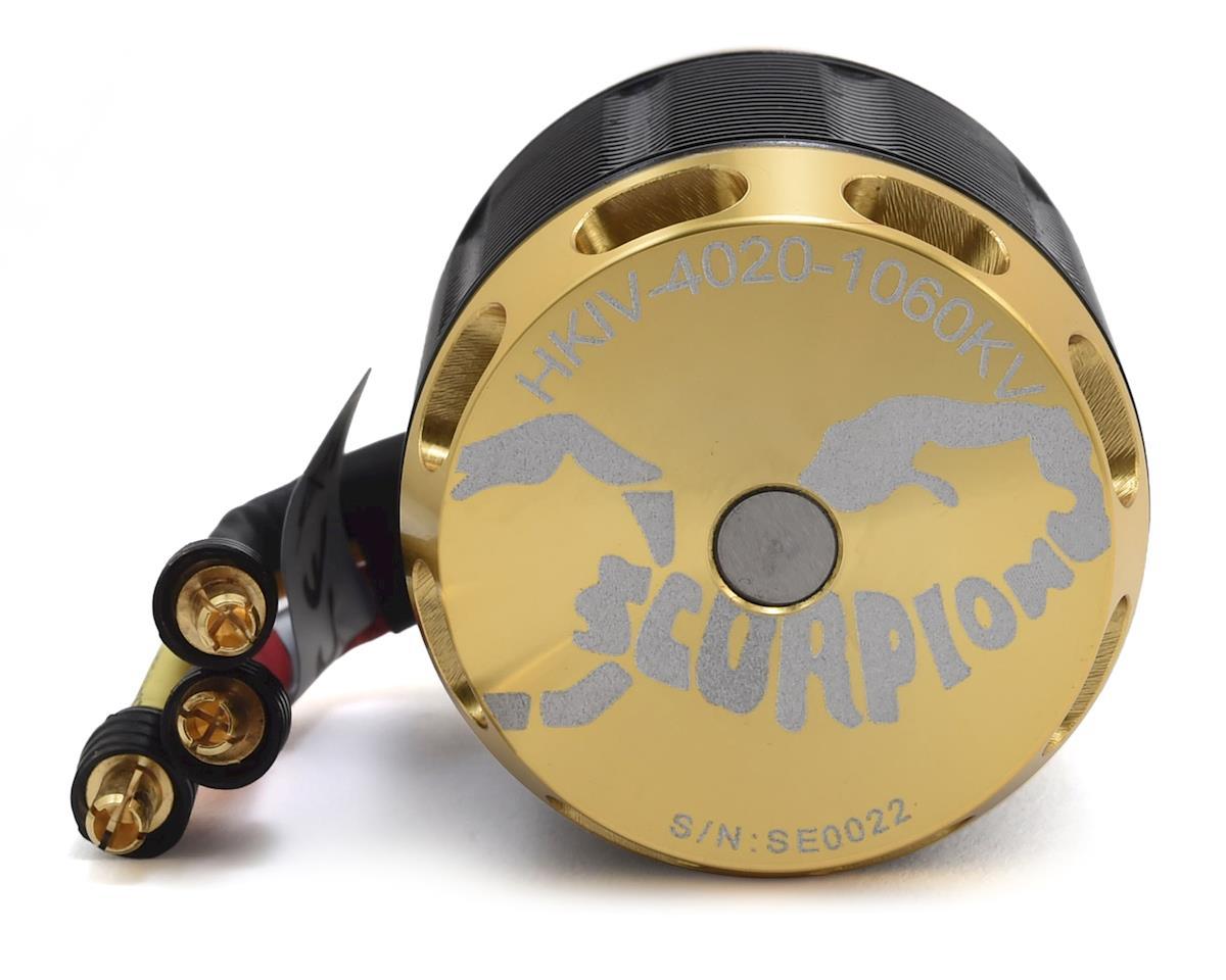 Scorpion HKIV 4020-1060 Brushless Motor (1732W, 1060Kv)