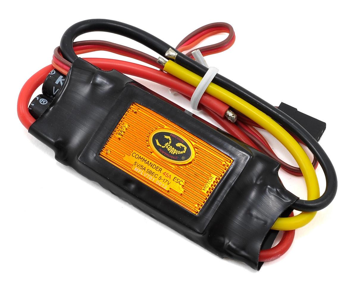 Scorpion Commander V3 45 Amp 4-Cell ESC (SBEC)