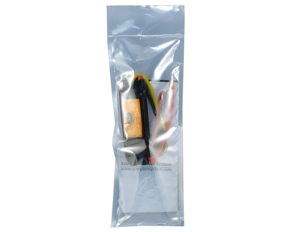 Scorpion Commander V3 60 Amp 4-Cell ESC w/SBEC