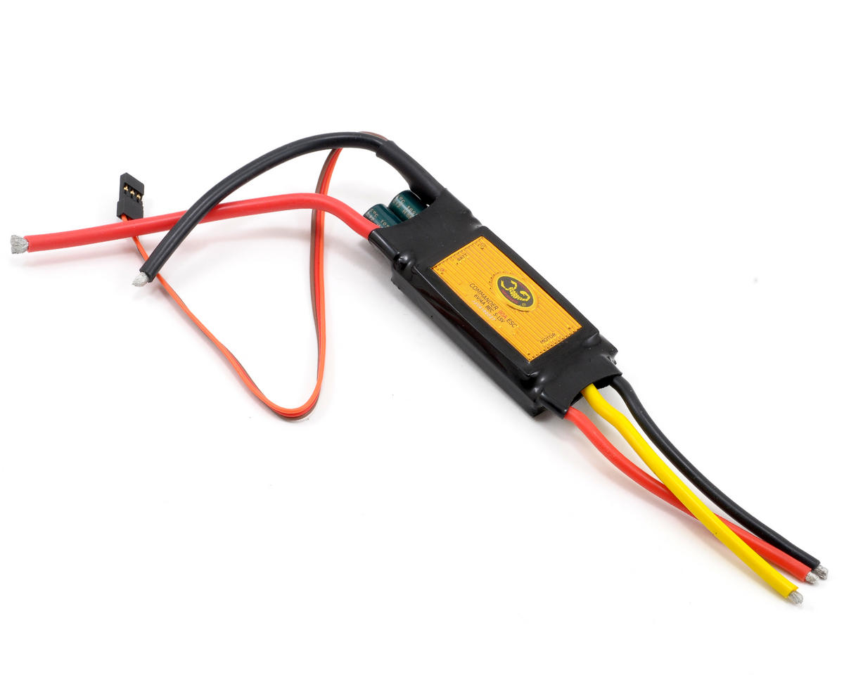 Scorpion Commander V3 90 Amp 4-Cell ESC w/SBEC