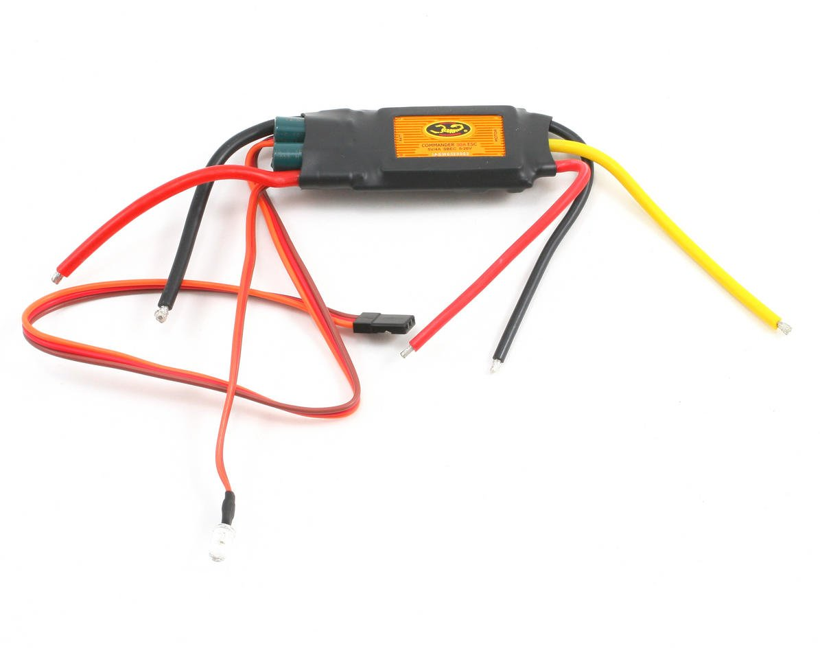 Scorpion 30 Amp 6-Cell Brushless ESC with Switching BEC