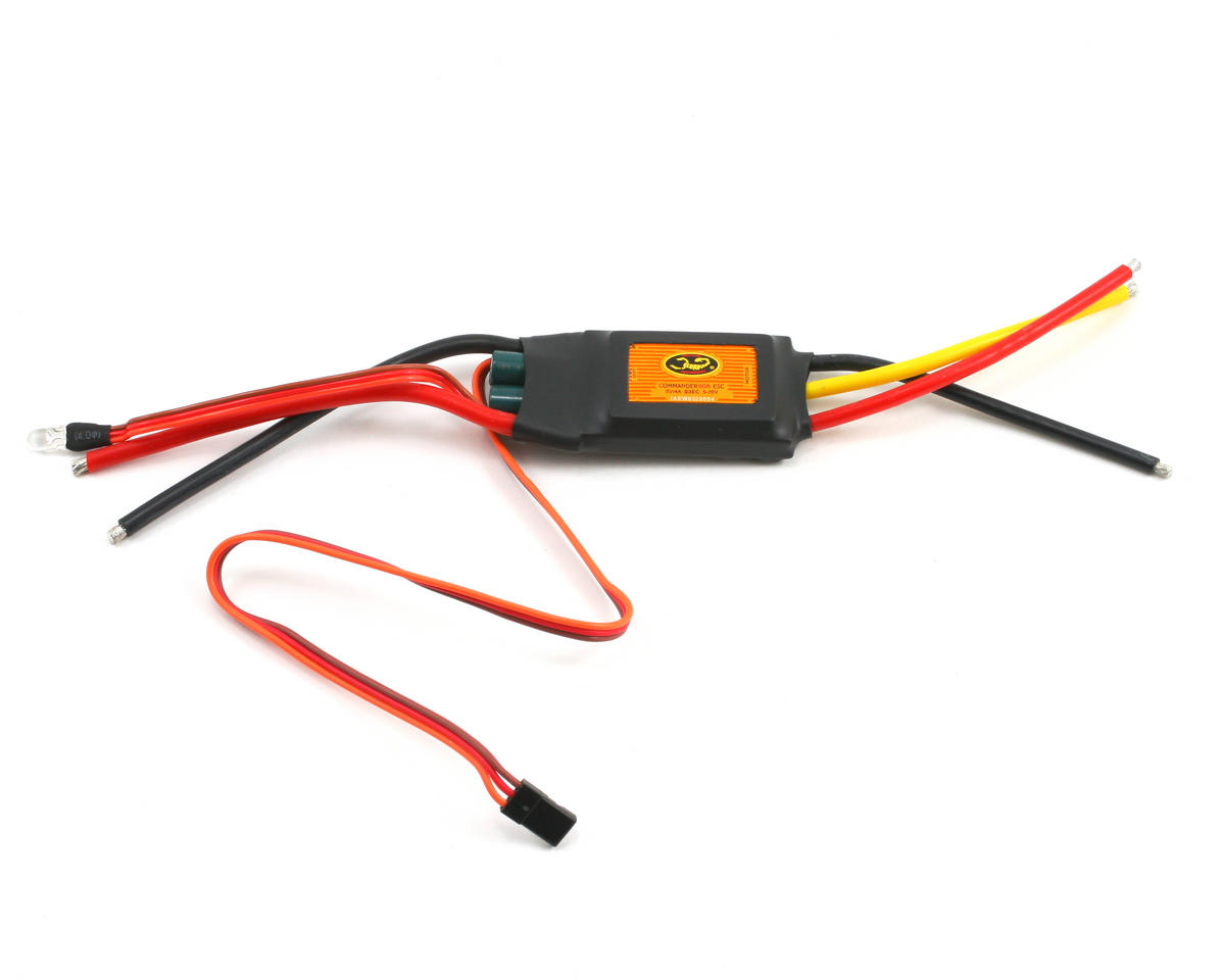 Scorpion 60 Amp 6-Cell Brushless ESC with Switching BEC