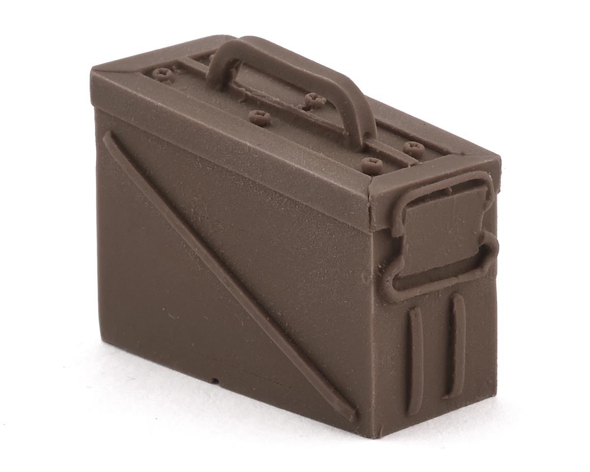 Sideways RC Scale Drift Ammo Box (Brown) (Yokomo YD-2)