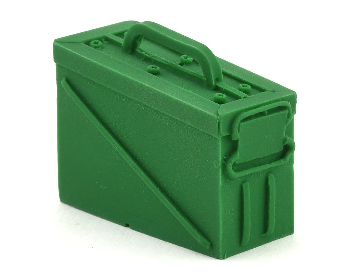 Sideways RC Scale Drift Ammo Box (Green) (Yokomo YD-2)