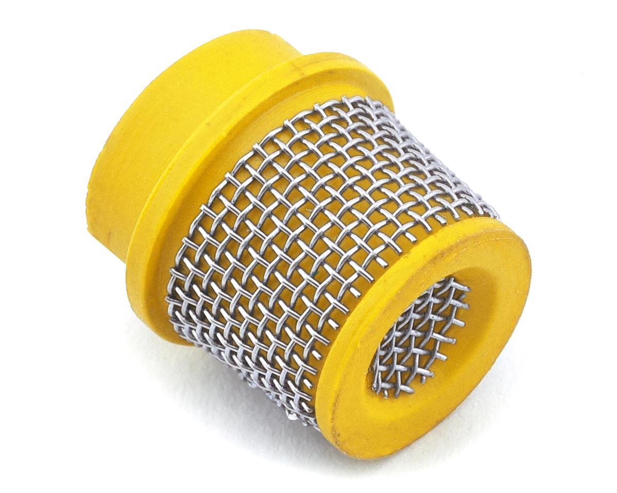 Sideways RC Scale Drift Cone Filter (Yellow) (Style 1)