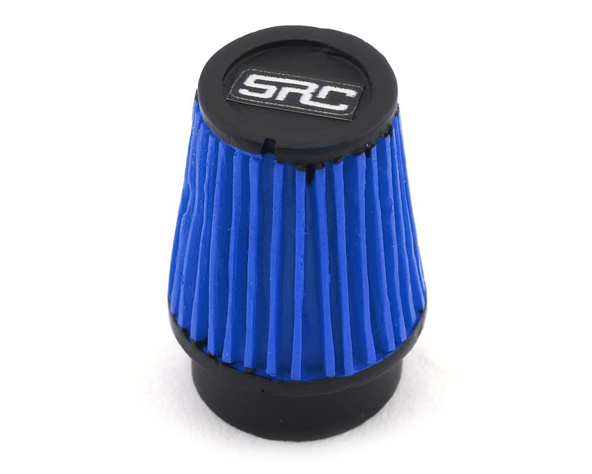 Sideways RC Scale Drift Cone Air Filter (Blue) (Style 3)