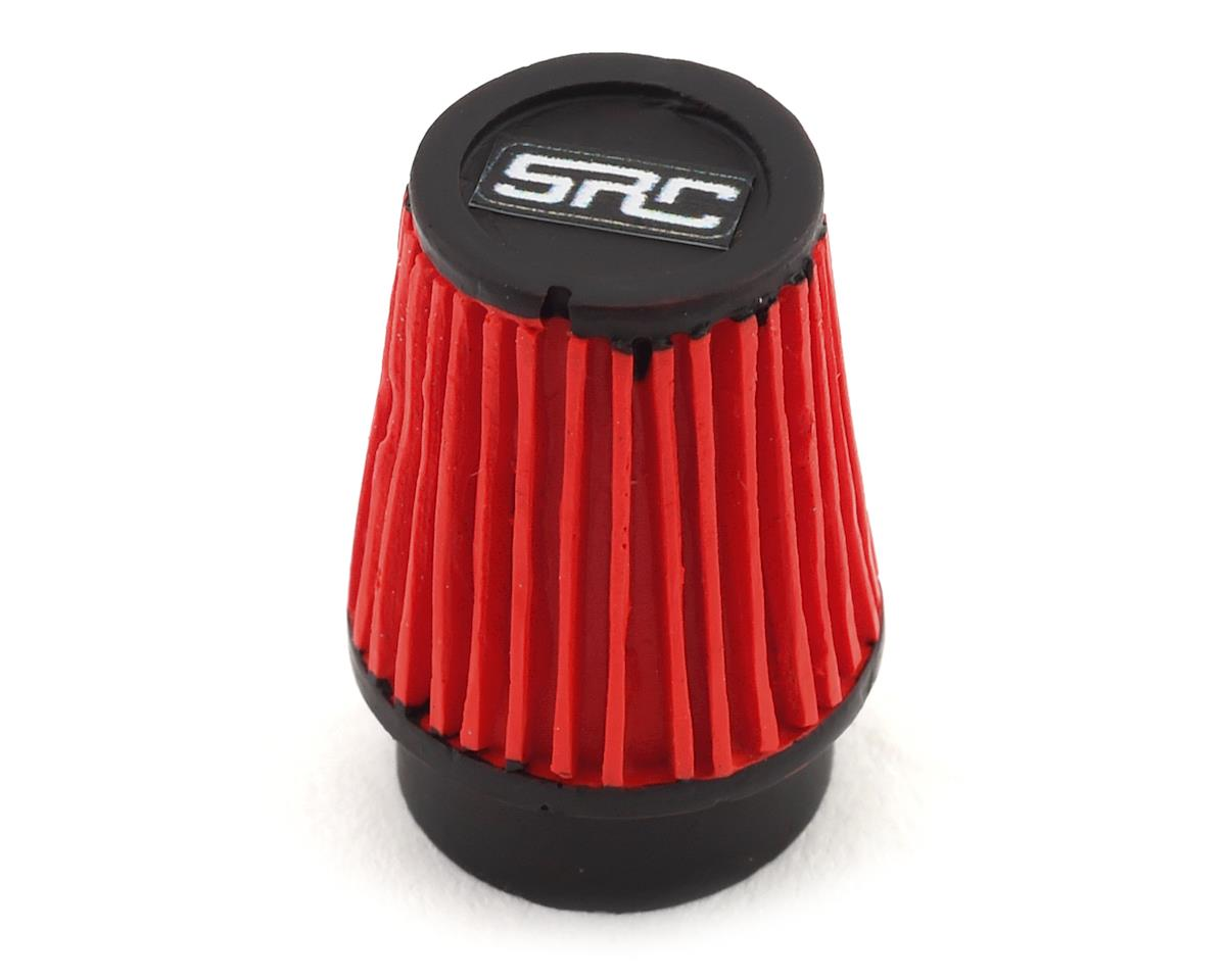 Sideways RC Scale Drift Cone Air Filter (Red) (Style 3)