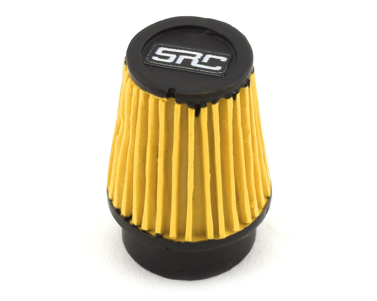 Sideways RC Scale Drift Cone Air Filter (Yellow) (Style 3)