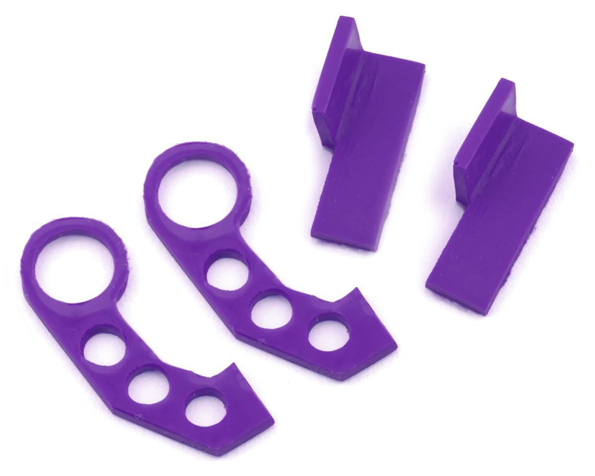 Sideways RC Scale Drift JDM Tow Hook (Purple) (2) (Style 3)