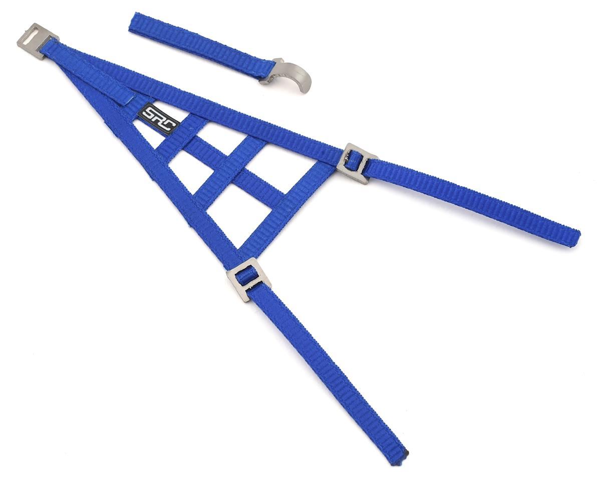 Sideways RC Scale Drift Triangle Window Net (Blue)   relatedproducts