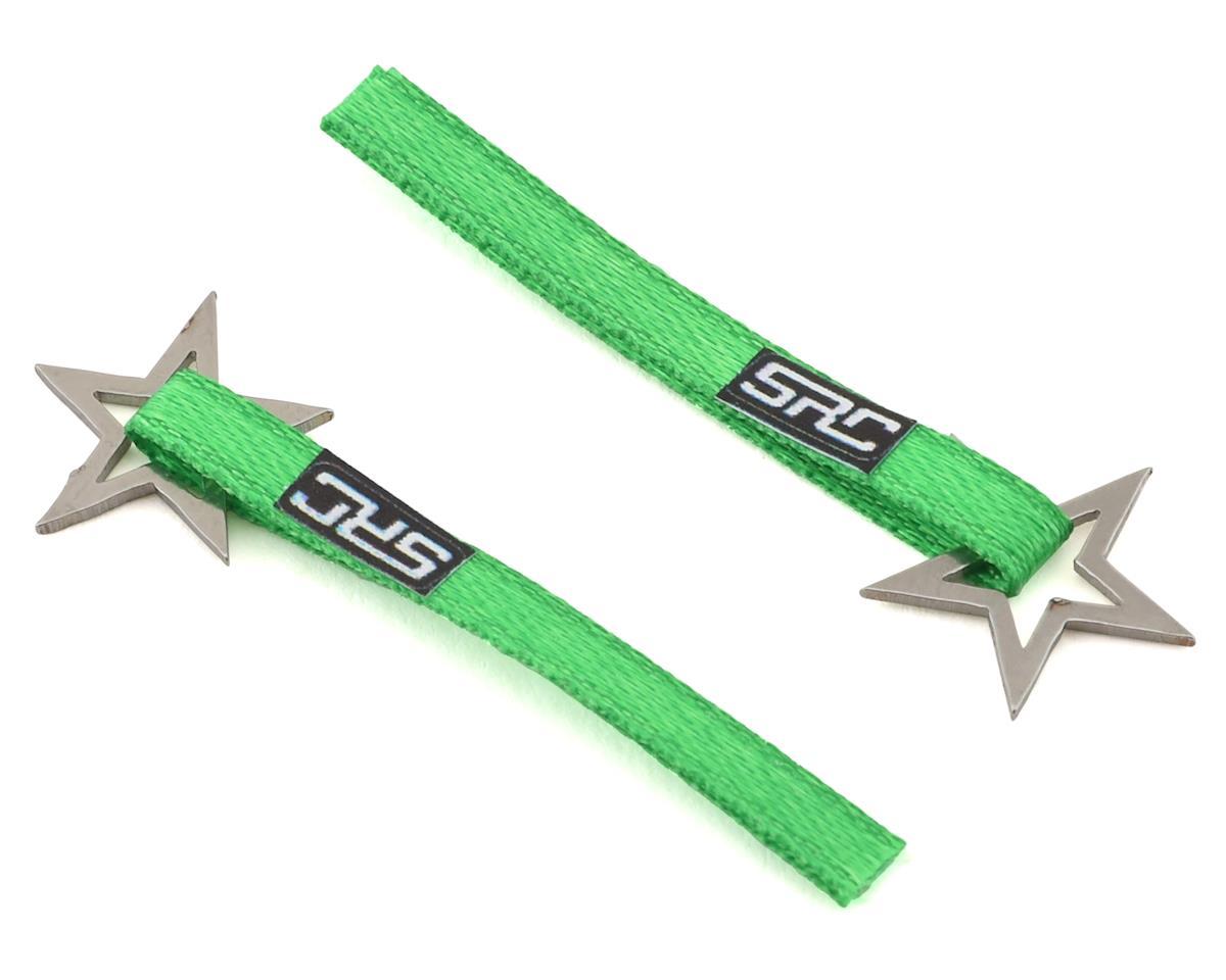 Sideways RC Scale Drift Nylon Tow Strap w/Star Hook (Green) (2)