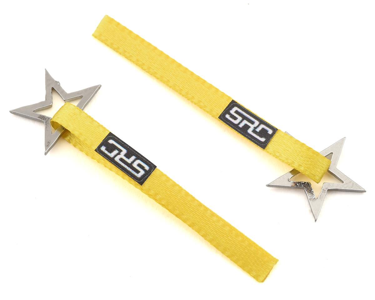 Sideways RC Scale Drift Nylon Tow Strap w/Star Hook (Yellow) (2)