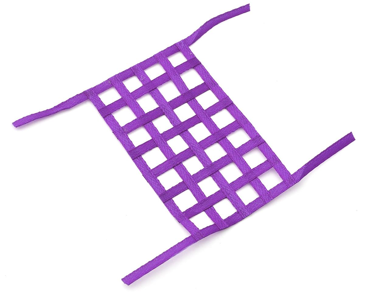 Sideways RC Scale Drift Window Net (Purple) (Large)