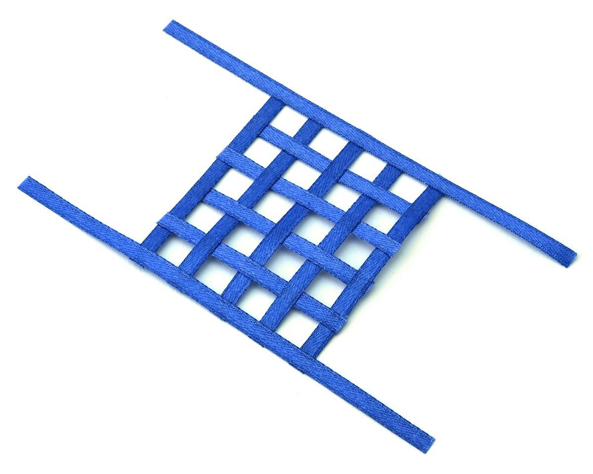 Sideways RC Scale Drift Window Net (Blue) (Small)