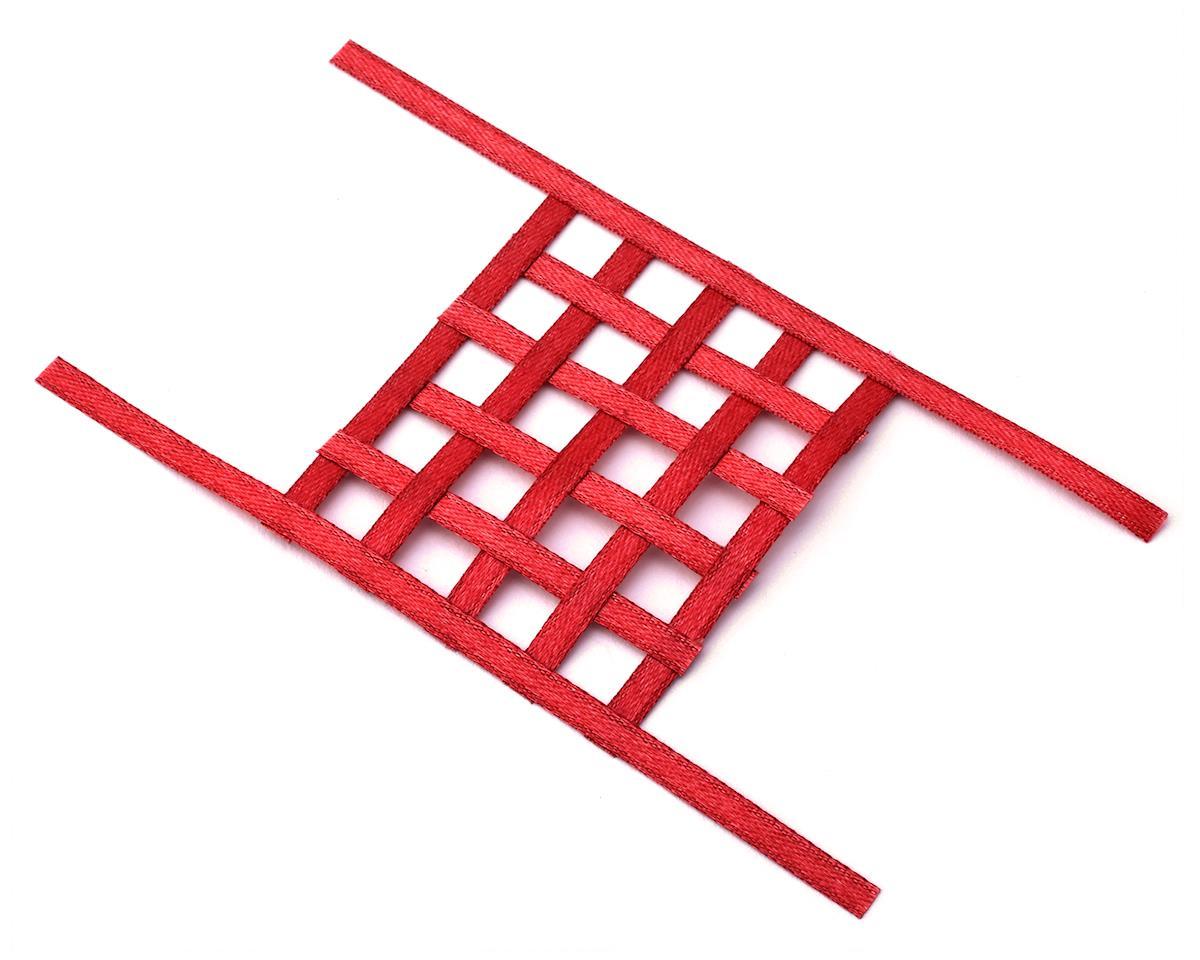 Sideways RC Scale Drift Window Net (Red) (Small)