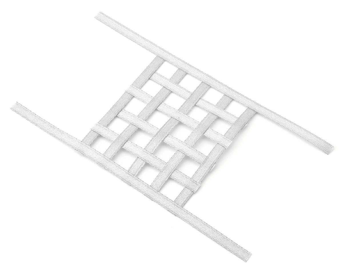 Sideways RC Scale Drift Window Net (White) (Small)