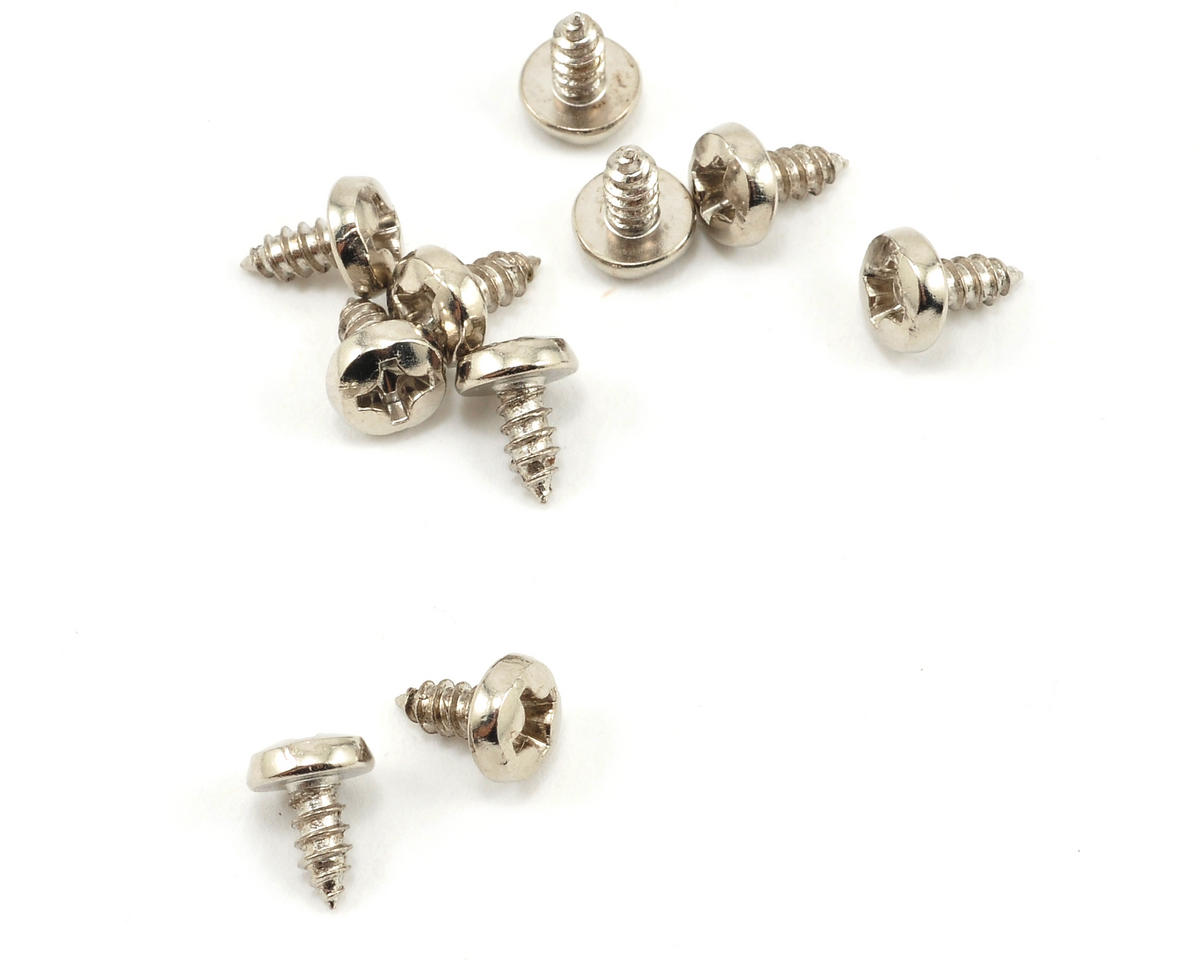 Serpent S411 2.5x5mm Button Head Wide Thread Phillips Screw (10)