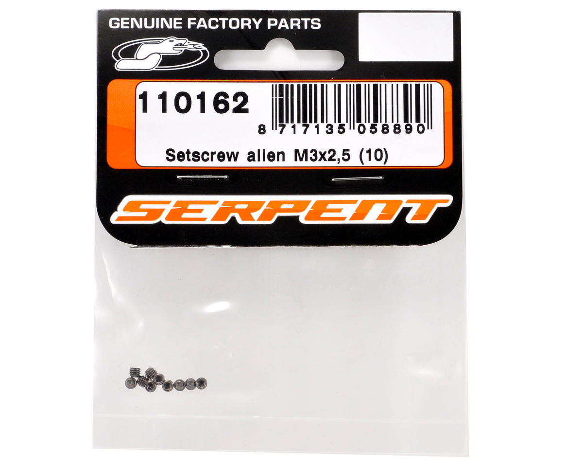 Serpent 3x2.5mm Set Screw (10)