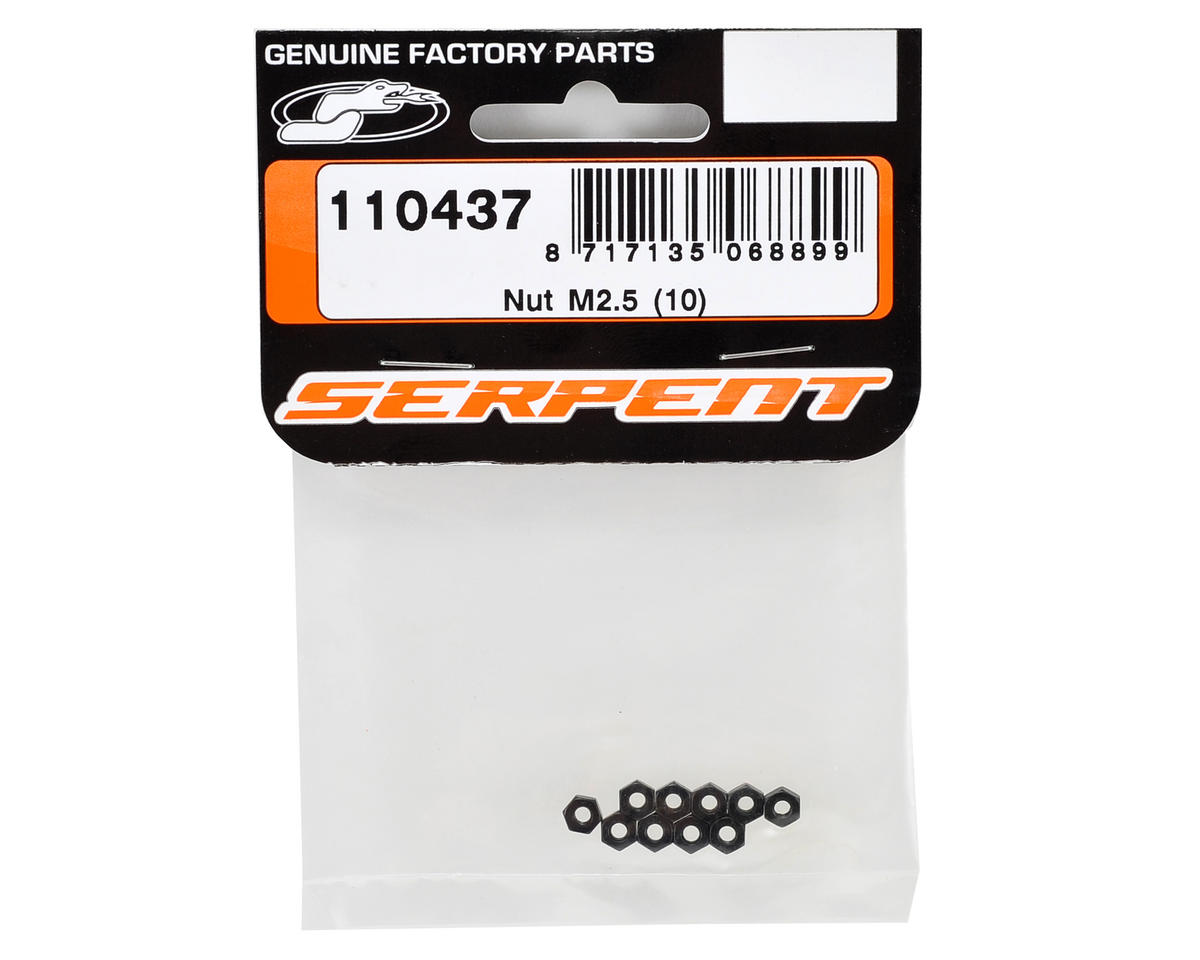 Serpent 2.5mm Nut (10)
