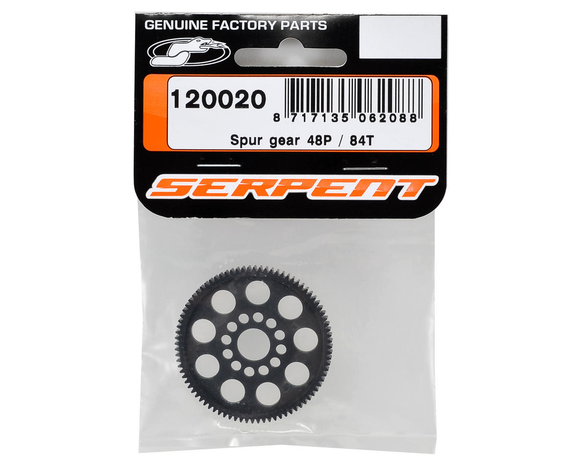48P Spur Gear (84T) by Serpent