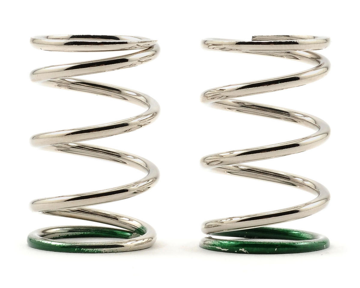 Serpent 27mm Shock Spring (Green) (8/45.5) (2)