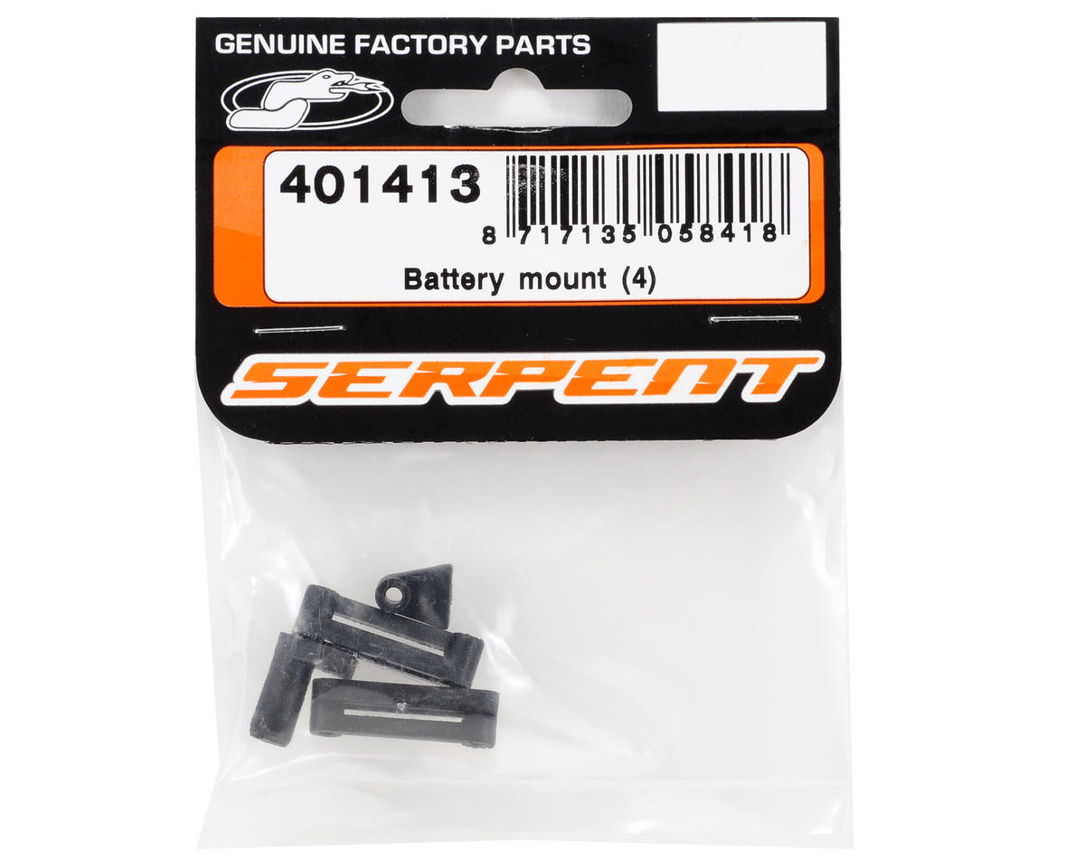 Battery Mount Set (4) by Serpent
