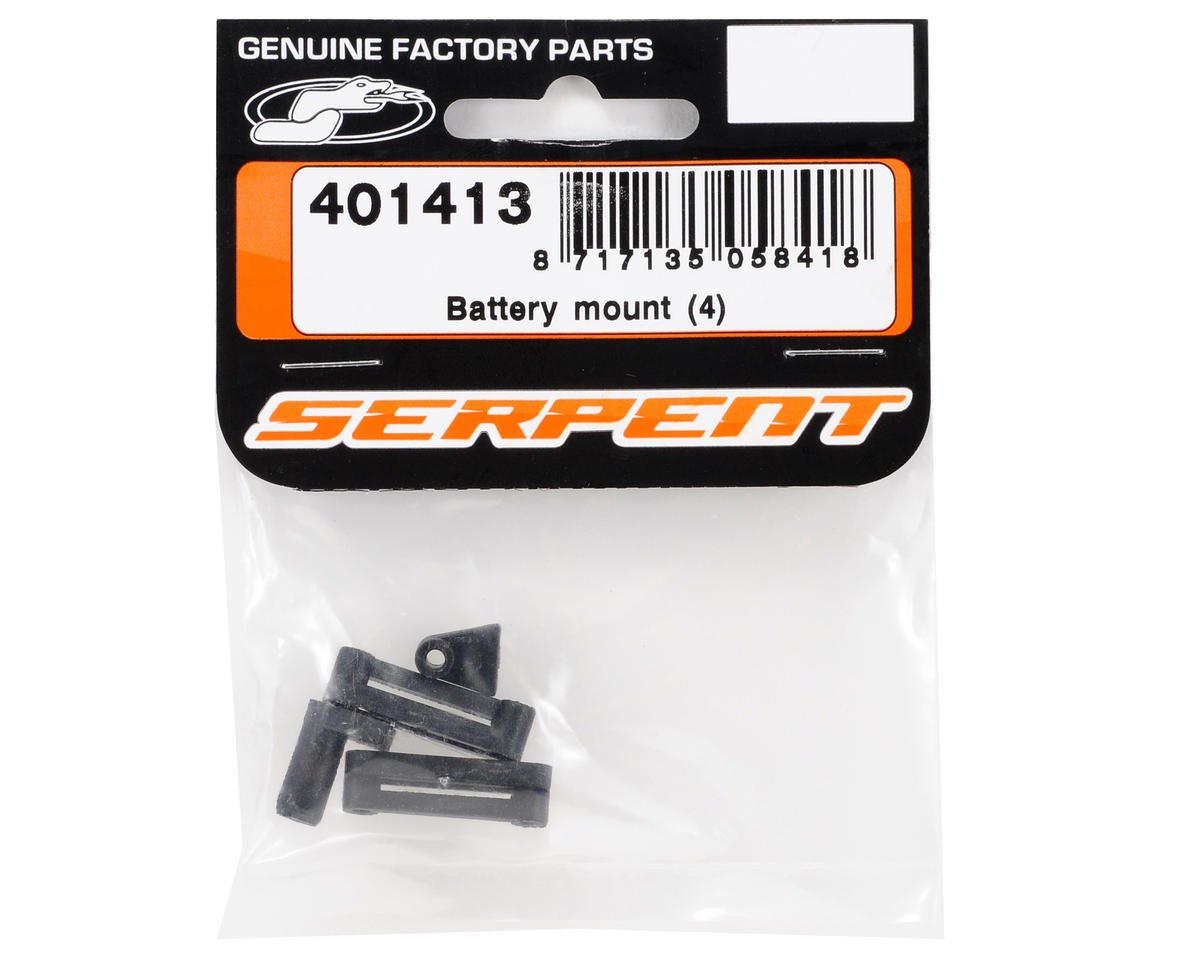 Serpent Battery Mount Set (4)