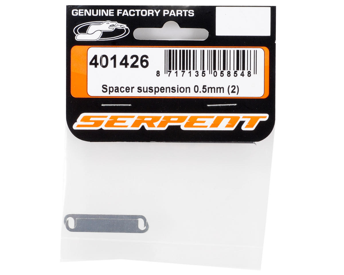 Serpent 0.5mm Suspension Spacer Set (2)