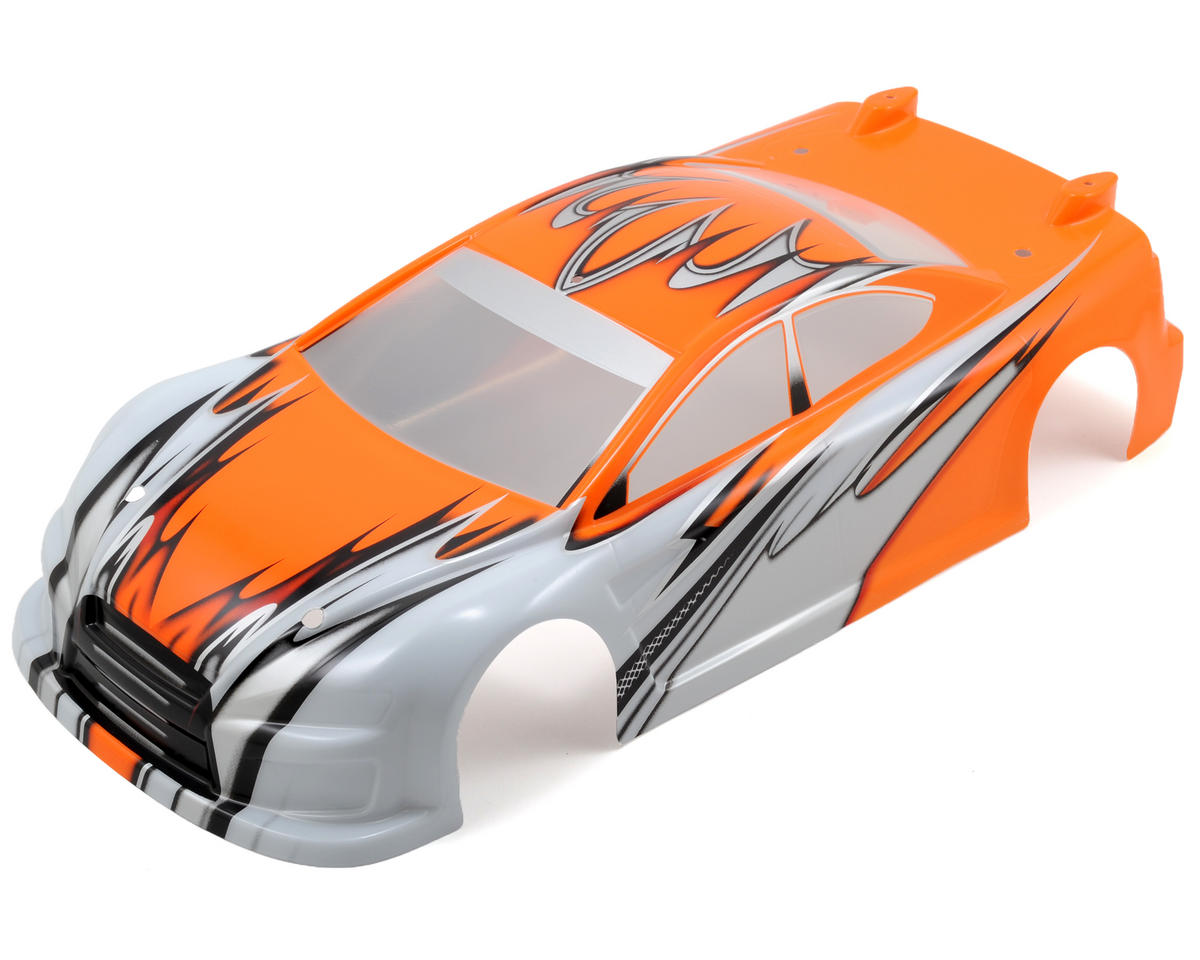 Serpent S411 Lex-IS Pre-Painted Touring Car Body (Orange) (190mm)