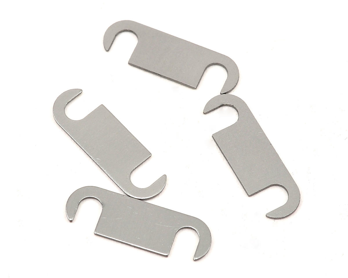 Serpent 0.5mm Aluminum Suspension Bracket Spacer (4)
