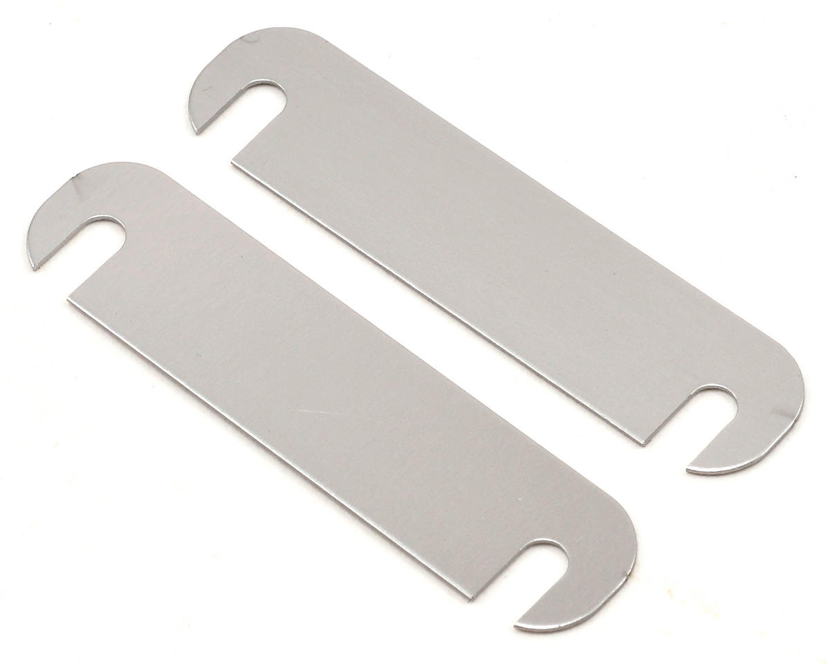 Serpent S120LTX 0.5mm Lower Arm Distance Plate Set (2)