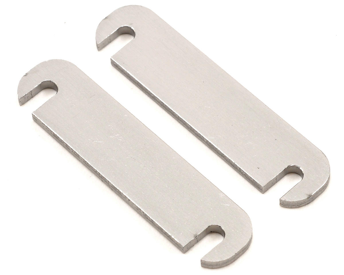 Serpent 2mm Lower Arm Distance Plate Set (2)