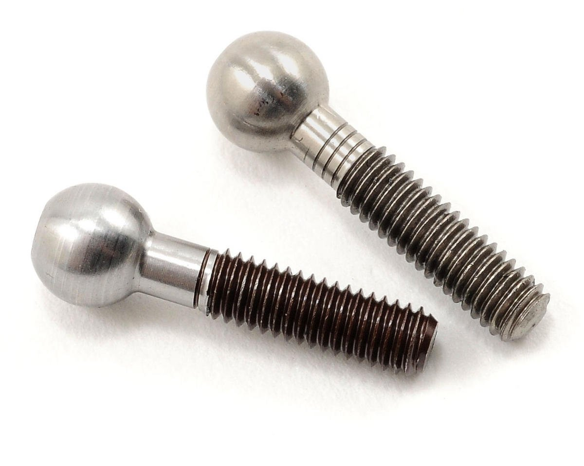 Serpent S411 Threaded Upper Arm Pivot Ball Set (2)