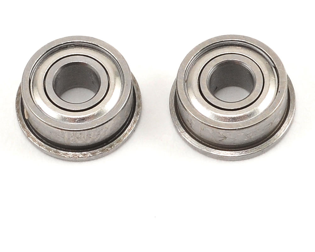 "Serpent S120LT 1/8x5/16x9/64"" Flanged Ball Bearing Set (2)"