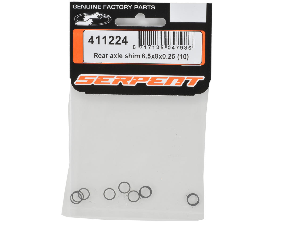 Serpent 6.5x8x0.25mm Rear Axle Shim (10)