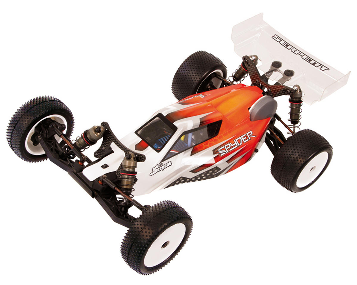Spyder SRX-2 MM Mid Motor 2WD Competition Electric Buggy Kit