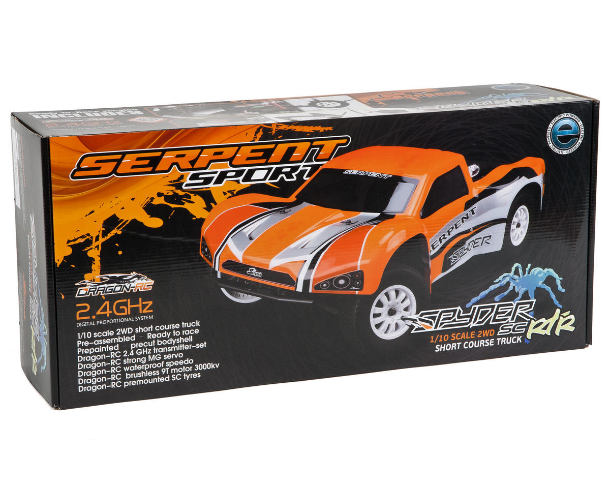 Serpent Spyder SRX-2 RM SC 1/10 Electric 2WD RTR Short Course Truck