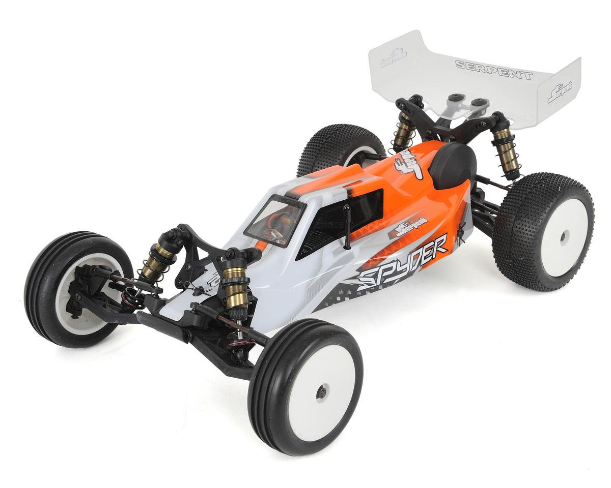Spyder SRX-2 MM Mid-Motor 2WD RTR 1/10 Electric Buggy by Serpent