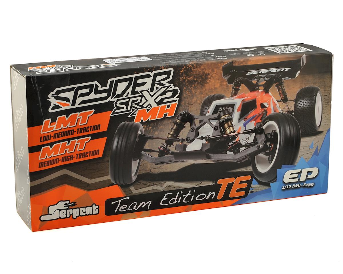 Spyder SRX-2 MHT Team Edition Mid-Motor Hybrid 2WD Electric Buggy Kit by Serpent