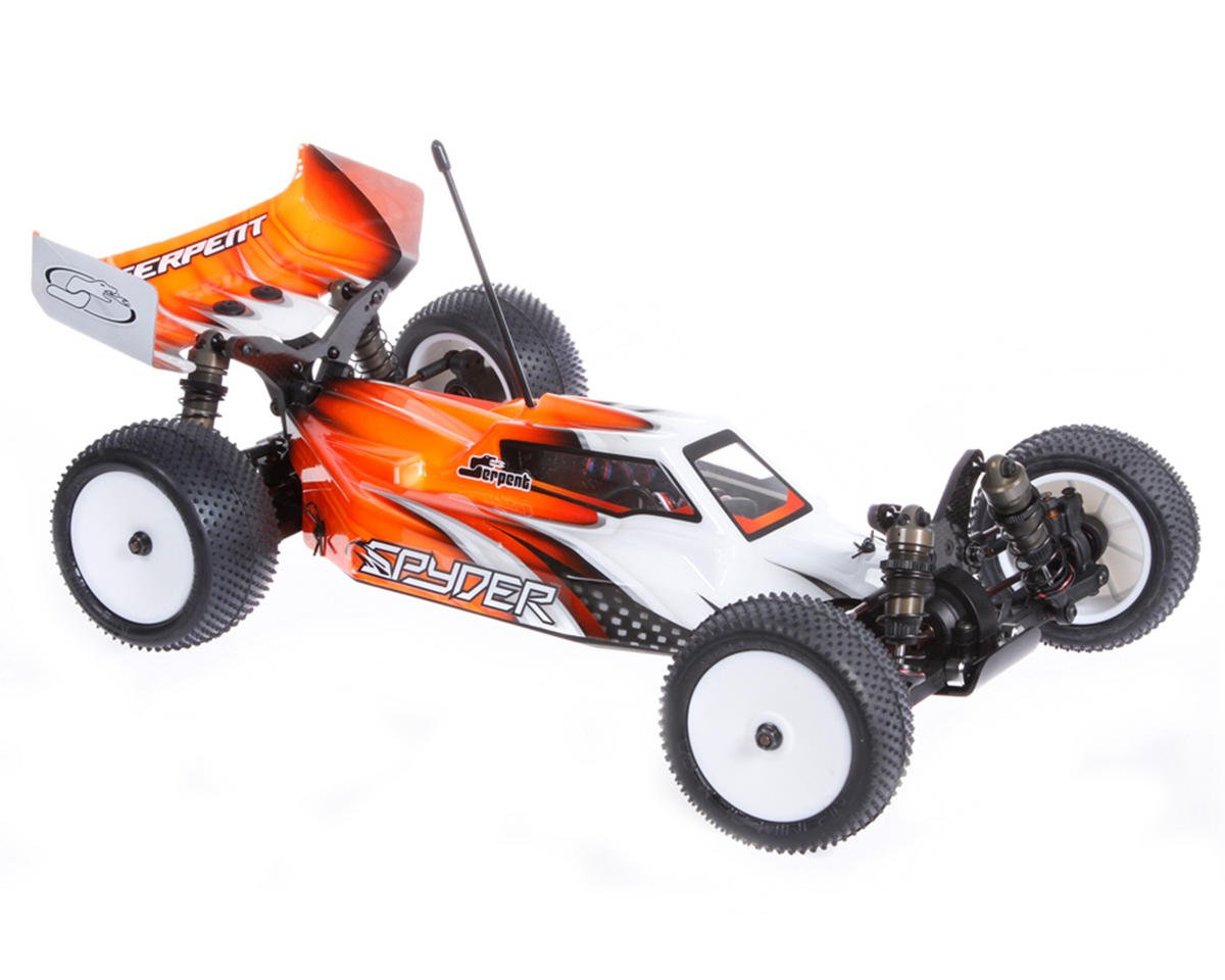 SCRATCH & DENT: Serpent Spyder SRX-4 1/10 4WD Electric Buggy Kit (Aluminum Chassis)