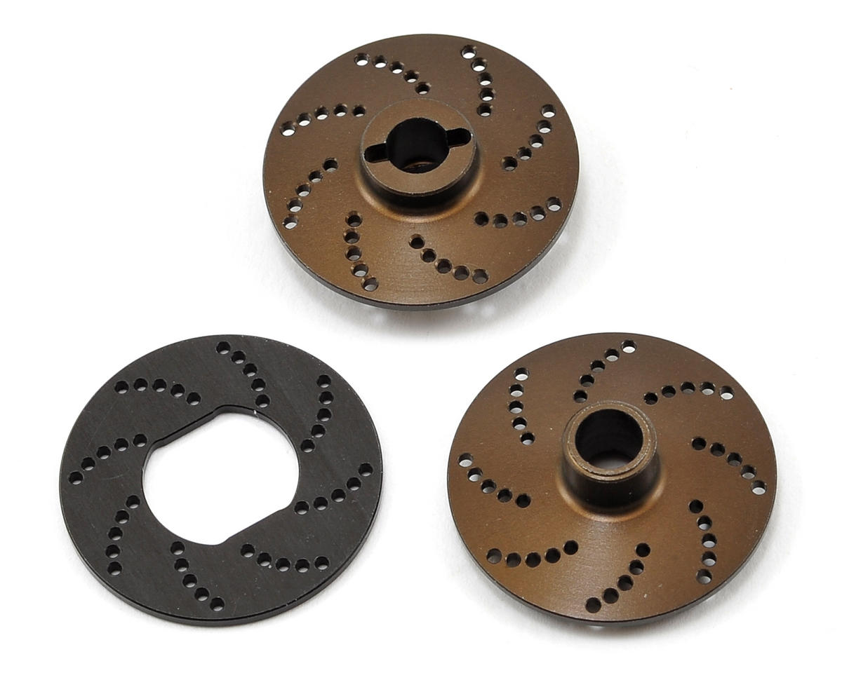 Serpent Vented Aluminum Slipper Plate Set