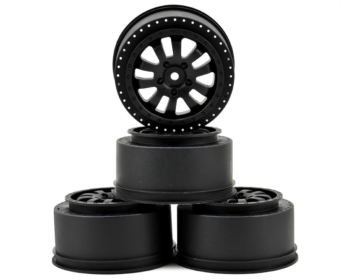 Serpent Spyder SRX-2 SC 2.2/3.0 Short Course Wheel (4) (Black)