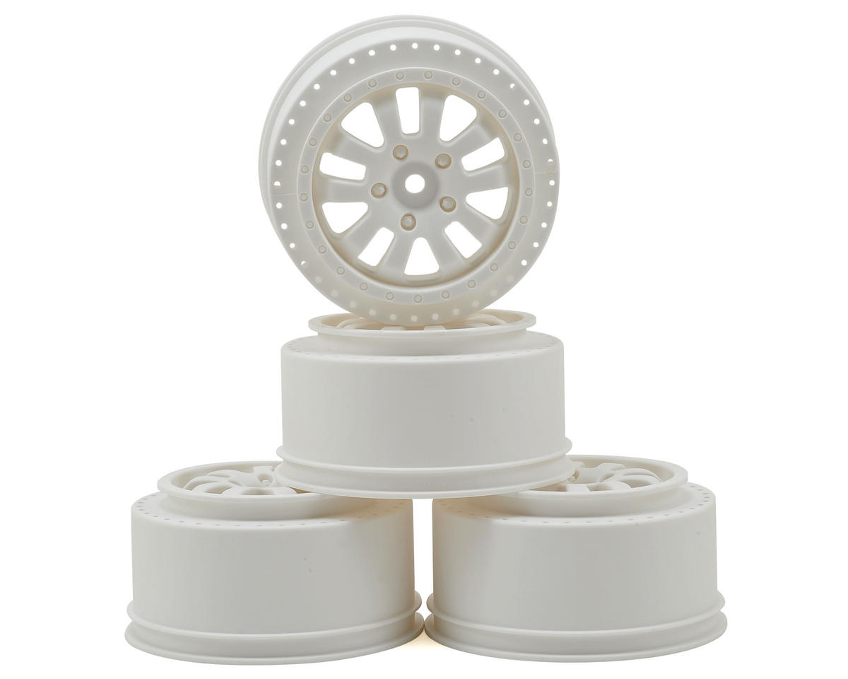 Serpent 2.2/3.0 Short Course Wheel (4) (White)