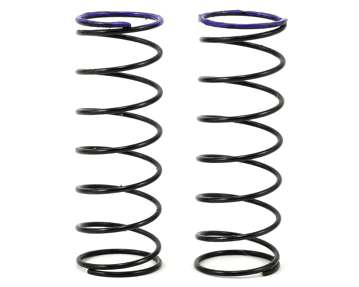 Front Shock Spring (2) (Purple - 3.4lbs) by Serpent