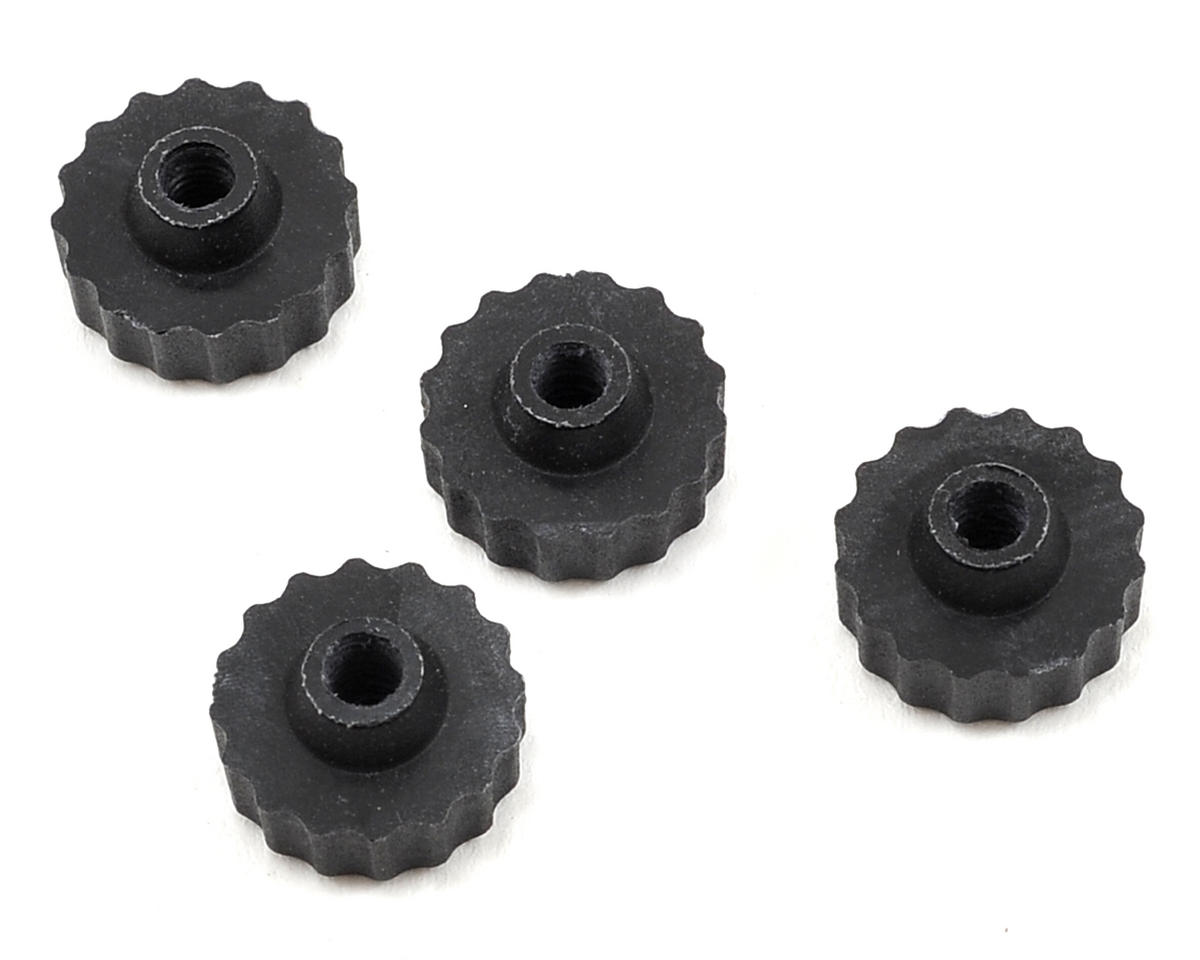 Serpent RTR Nylon Battery Plate Nut (4)
